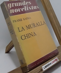 La muralla china - Franz Kafka