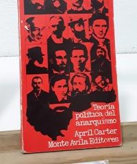 Teoría política del anarquismo - April Carter
