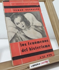 Los fenómenos del histerismo - A. Martín de Lucenay