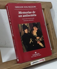 Memorias de un antisemita - Gregor Von Rezzori