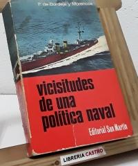 Vicisitudes de una política naval - Fernando de Bordejé y Morencos