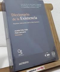 Diccionario de la Existencia. Asuntos relevantes de la vida humana - Varios