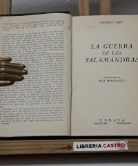 La guerra de las salamandras - Charles Carr