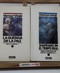 Serie de las Burbujas 1 y 2. La guerra de la paz y Naufragio en el tiempo real (II tomos) - Vernor Vinge