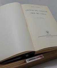 Ciencia del lenguaje y arte del estilo - Martín Alonso