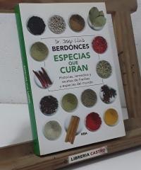 Especias que curan - Josep Lluís Berdonces