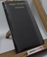 Vidas sombrías - Pío Baroja