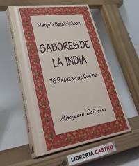 Sabores de la India - Manjula Balakrishnan
