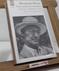 Tres novelas de iniciación. Gertrudis - Rosshalde - Knulp - Hermann Hesse