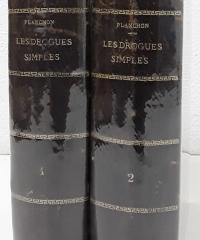 Les Drogues simples d´origine végétale (II tomos) - G. Planchon y E. Collin