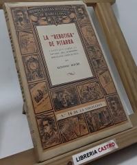 La Rebotiga de Pitarra. Capítulos sobre la historia del humorismo barcelones ochocentista - Alfonso Roure