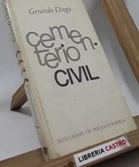 Cementerio civil - Gerardo Diego