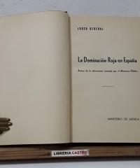 Causa General. La dominación roja en España - Ministerio de Justicia