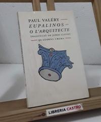 Eupalinos o l'Arquitecte - Paul Valéry