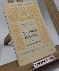 Els sistemes electorals (elements de dret polític) - Antoni Rovira i Virgili