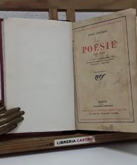 Poésie 1916 - 1923 - Jean Cocteau