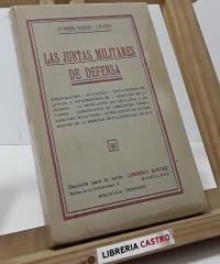 Las juntas militares de defensa - J.M. Capo, ex-coronel Márquez