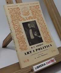 Art i política (assaigs diversos) - B. C. Aribau