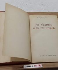 Los últimos días de Hitler - H.R. Trevor-Roper