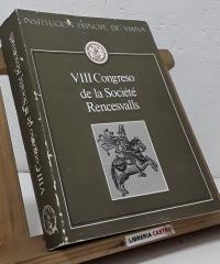 VIII Congreso de la Société Rencesvalls - Varios