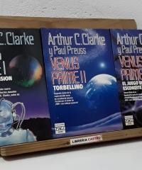 Venus Prime I, II y III. Máxima tensión. Torbellino y El juego del escondite (III tomos) - Arthur C. Clarke y Paul Preuss