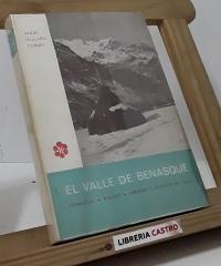 El Valle de Benasque. Formación, pasado, presente y porvenir del Valle - Ángel Ballarín Cornel