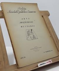 Boletín de la Sociedad Española de Excursiones. Arte, Arqueología, Historia - Varios