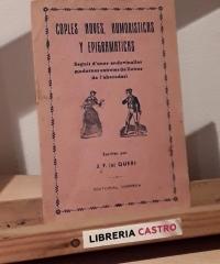 Coples noves, humoristicas y epigramáticas - J.F. Queri