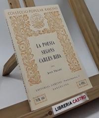 La poesia segons Carles Riba - Joan Triadú
