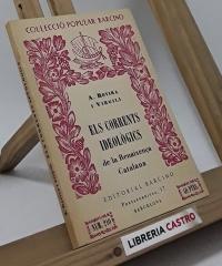 Els corrents ideològics de la Renaixença Catalana - Antoni Rovira i Virgili