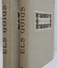 Imatgeria Popular Catalana. Els Goigs. Edició Facsímil i Numerada (II Volums) - Joan Amades y Josep Colomines