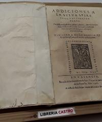 Addiciones a la sylva spiritual y su tercera parte. - Antonio Alvarez