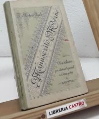 Manuscrito Moderno - José Martínez Aguiló