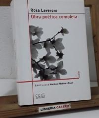 Obra poètica completa - Rosa Leveroni