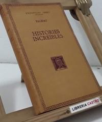 Històries Increïbles - Palèfat