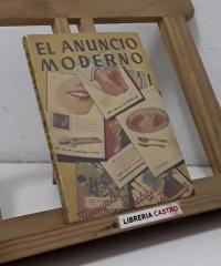 El anuncio moderno - José María Huertas