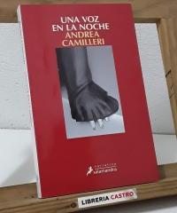 Una voz en la noche - Andrea Camilleri