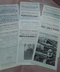 La Vanguardia Española, días 3, 4, 7, 9, 10, 14, 28, 29, 30, 31 de Marzo (diario y especial Notas Gráficas) y 2 de Abril (diario y especial Notas Gráficas) de 1939 - Diario La Vanguardia