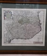 Principatus Cataloniae et comitatuum ruscinonis et cerretaniae descriptio - F. de Witt Amftelodami