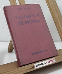 Vademécum de Botánica - Joaquín Más-Guindal