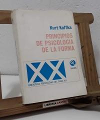 Principios de psicología de la forma - Kurt Koffka