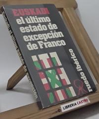 Euskadi, el último estado de excepción de Franco - Varios