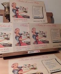 Fichas de cocina Waly. Creaciones Eva (IX Colecciones de 8 fichas) - Varios