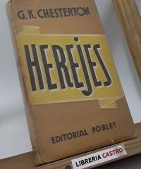 Herejes - G. K. Chesterton