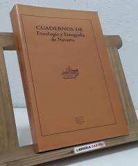 Cuadernos de Etnología y Etnografía de Navarra - Varios