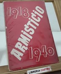 Armisticio 1918-1940 - Biblioteca Nueva Europa