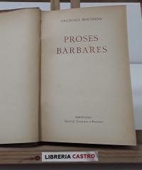 Proses bàrbares - Prudenci Bertrana