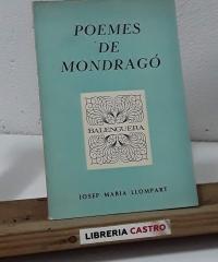 Poemes de Mondragó - Josep Maria Llompart