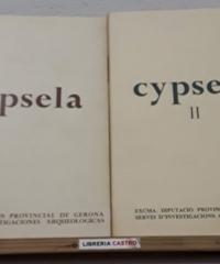 Cypsela. Cypsela II (II Tomos) - Varios