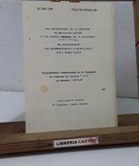 """Rassemblement Commémoratif de la Population de l'Amicale des Anciens F.T.P.F. du Bataillon """"Arthur"""" - Desconocido"""